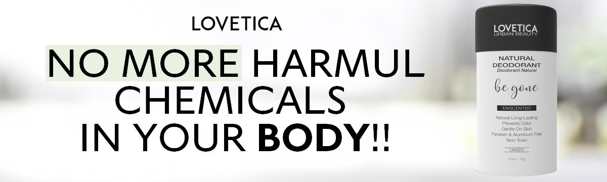 Lovetica Natural deodorant